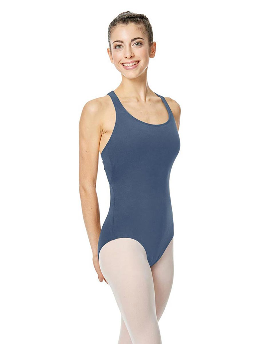 Brushed Cotton Tank Dance Leotard Ember JEA