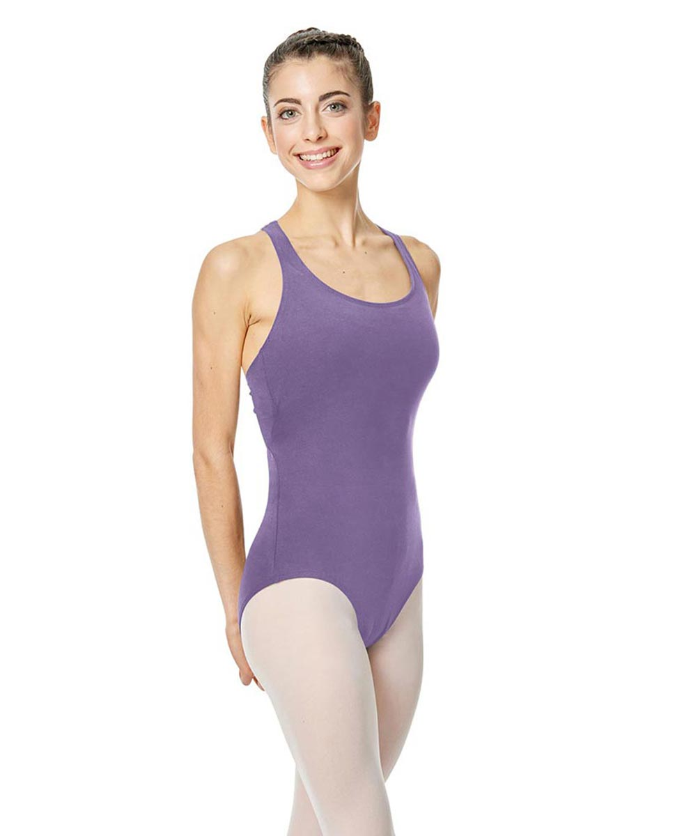Brushed Cotton Tank Dance Leotard Ember LAV
