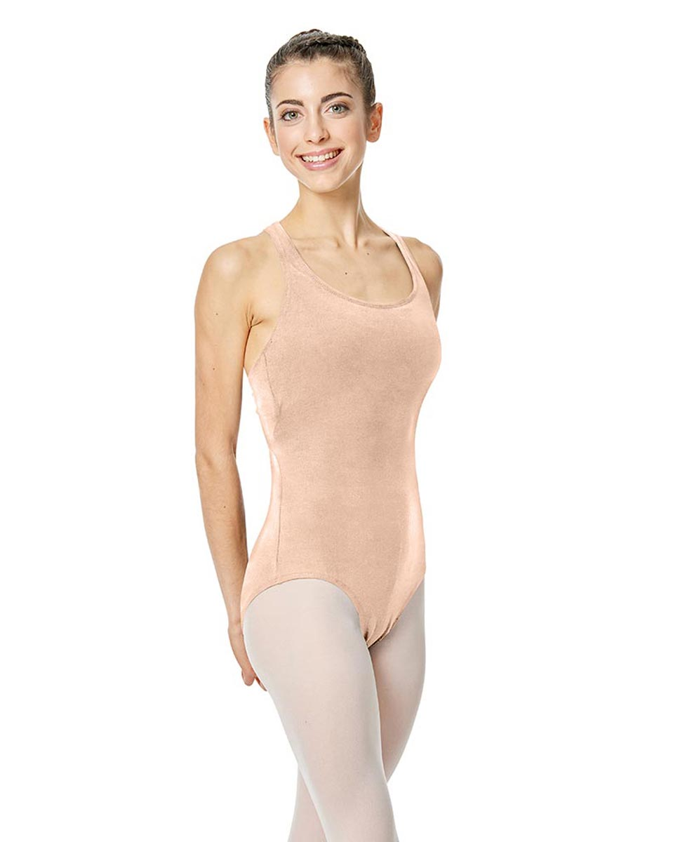Brushed Cotton Tank Dance Leotard Ember LNUD