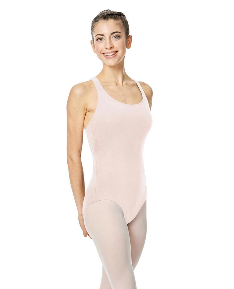 Brushed Cotton Tank Dance Leotard Ember LPNK
