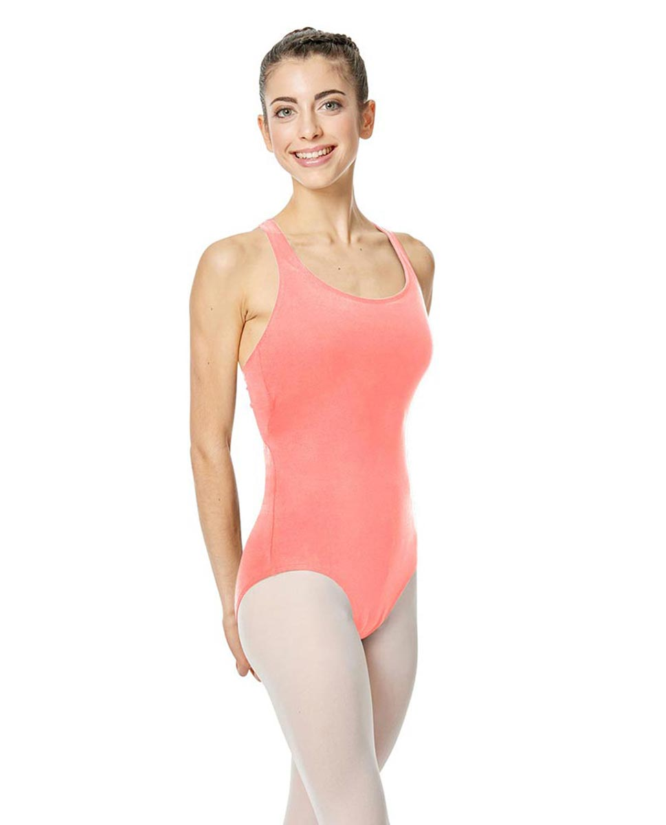 Brushed Cotton Tank Dance Leotard Ember PEAC