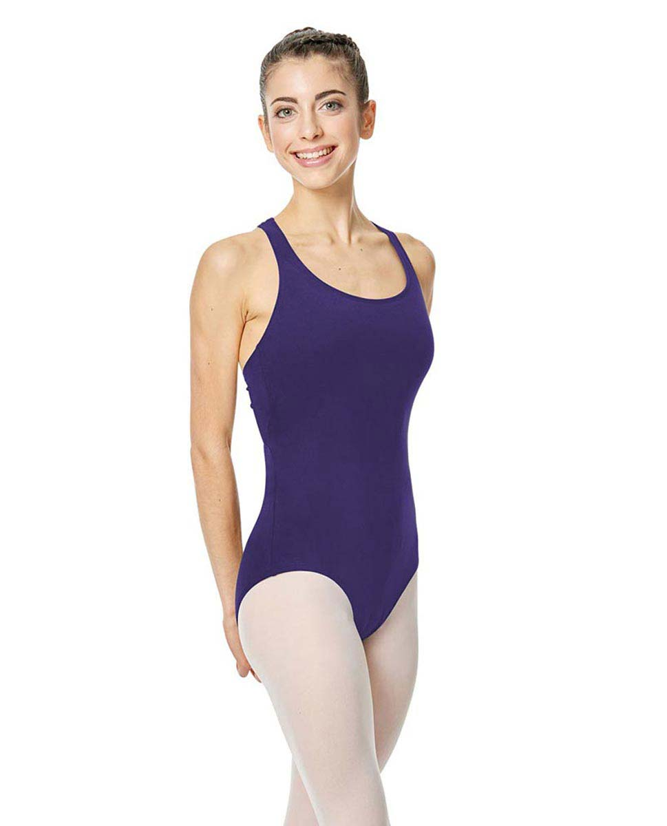 Brushed Cotton Tank Dance Leotard Ember ROY