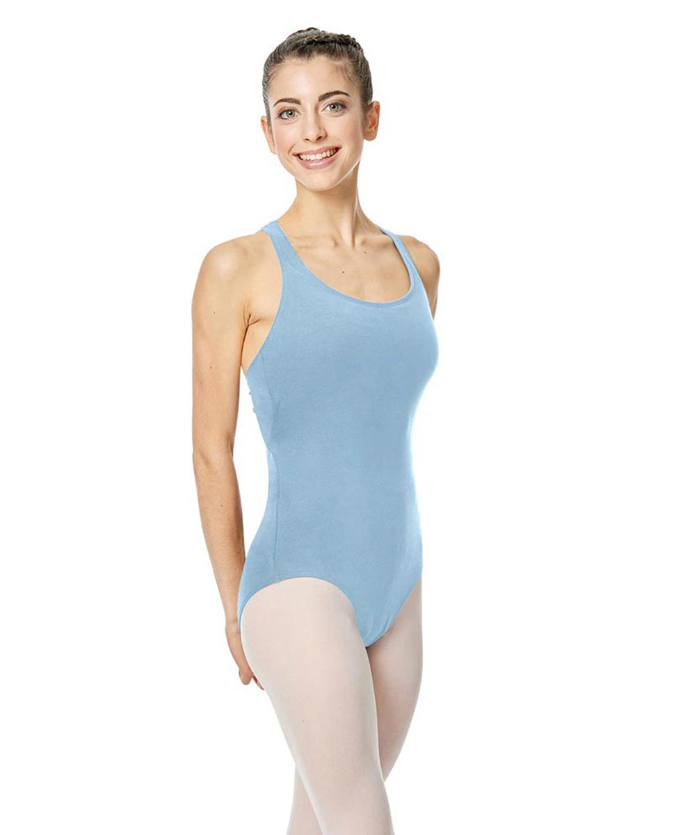 Brushed Cotton Tank Dance Leotard Ember SKY