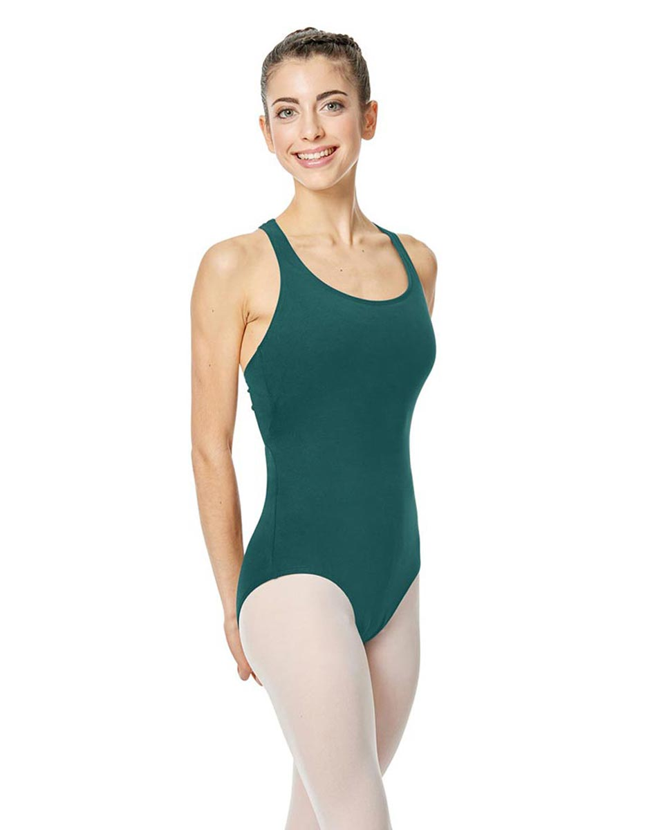 Brushed Cotton Tank Dance Leotard Ember TEA