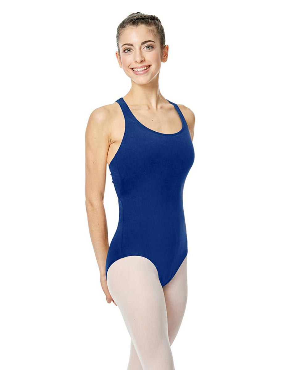 Brushed Cotton Tank Dance Leotard Ember UMA