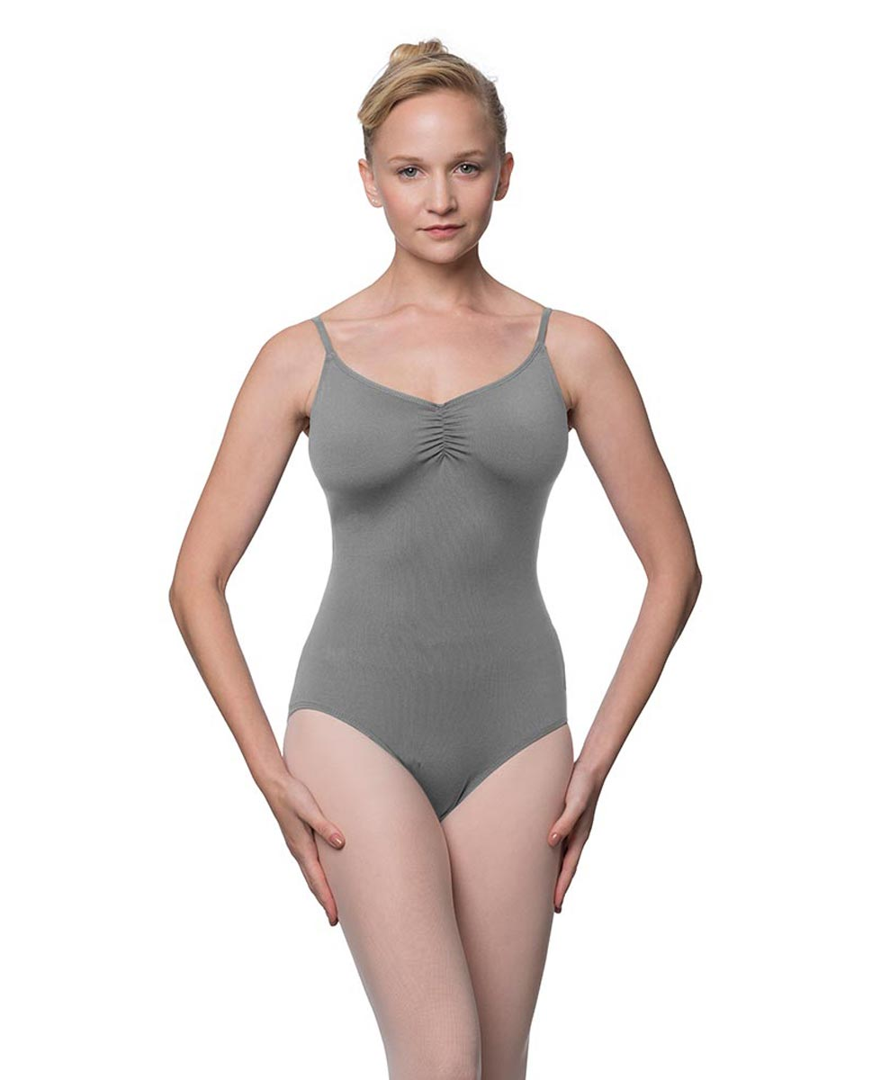 Camisole Microfiber Dance Leotard With Adjustable Straps Nadia GRE