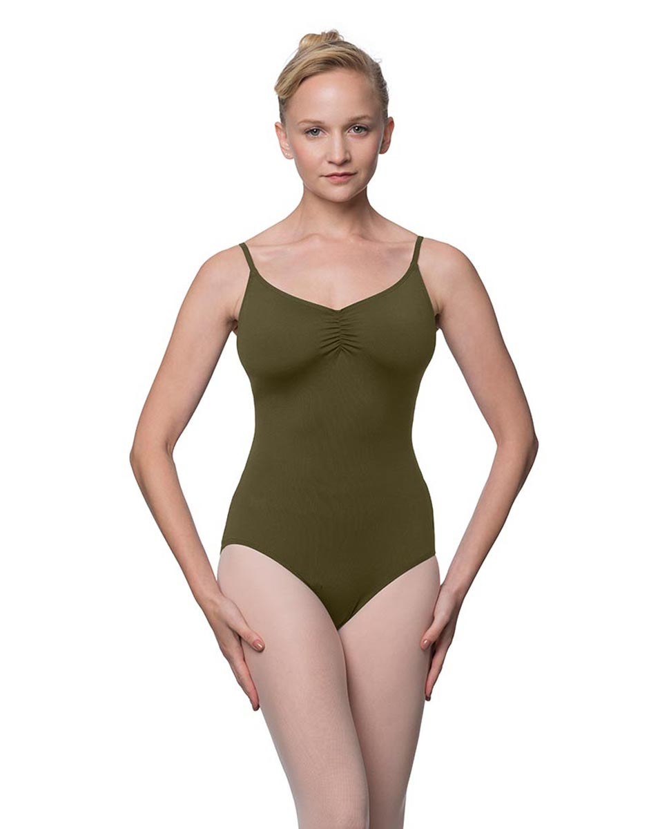 Camisole Microfiber Dance Leotard With Adjustable Straps Nadia KHA