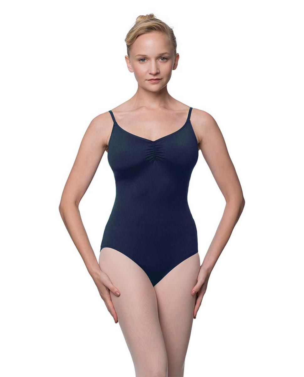 Camisole Microfiber Dance Leotard With Adjustable Straps Nadia NAY