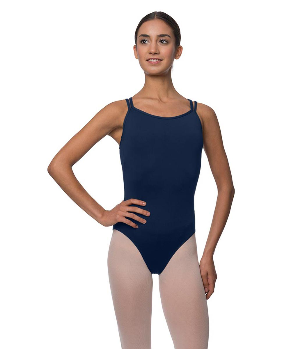 Double Strapped Camisole Microfiber Dance Leotard Nina NAY