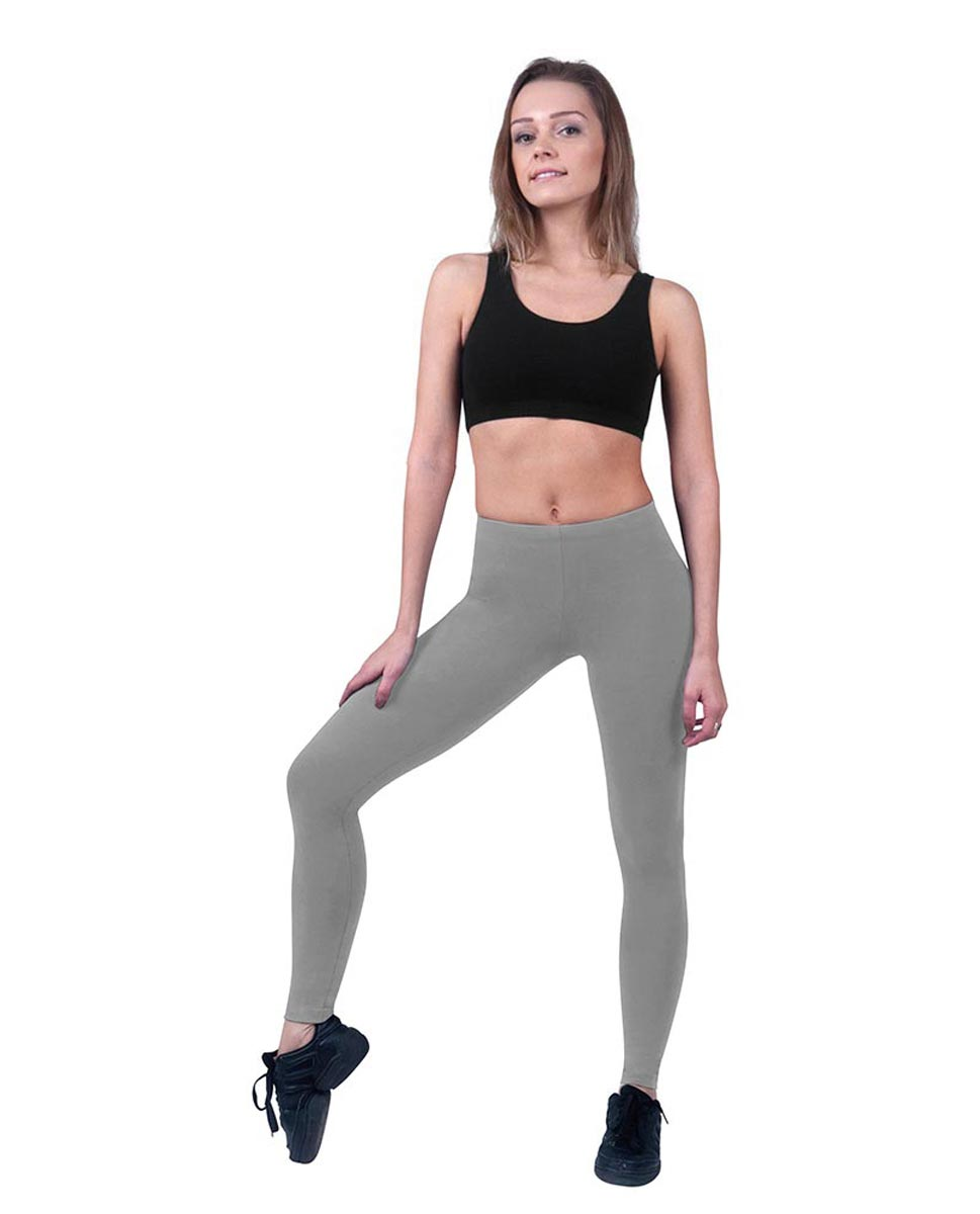 Brushed Cotton Ankle Dance Leggings Layla GRE