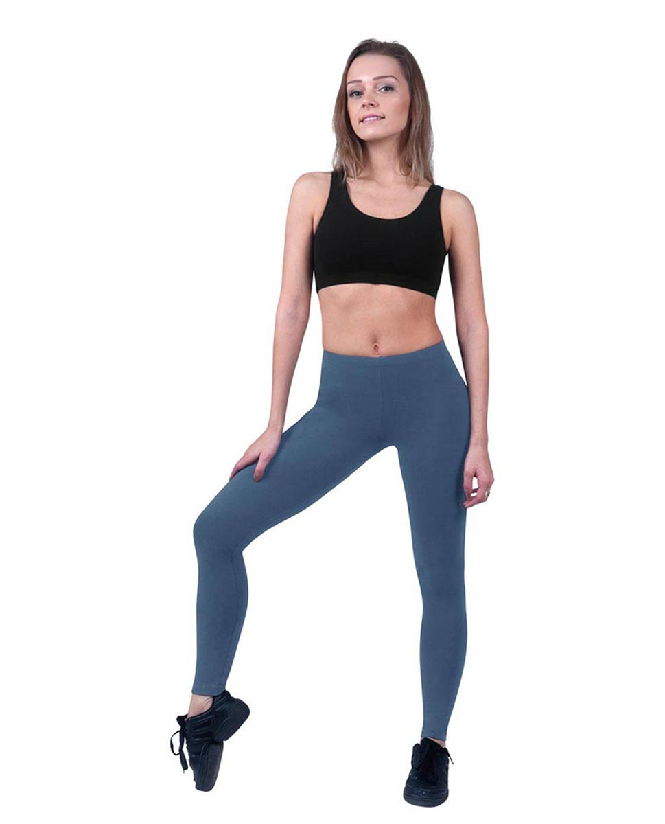 Brushed Cotton Ankle Dance Leggings Layla JEA