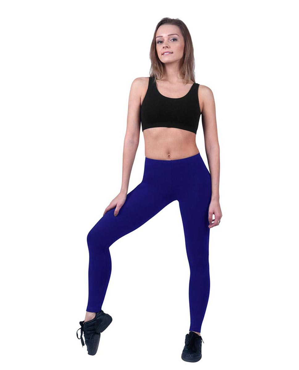 Brushed Cotton Ankle Dance Leggings Layla ROY