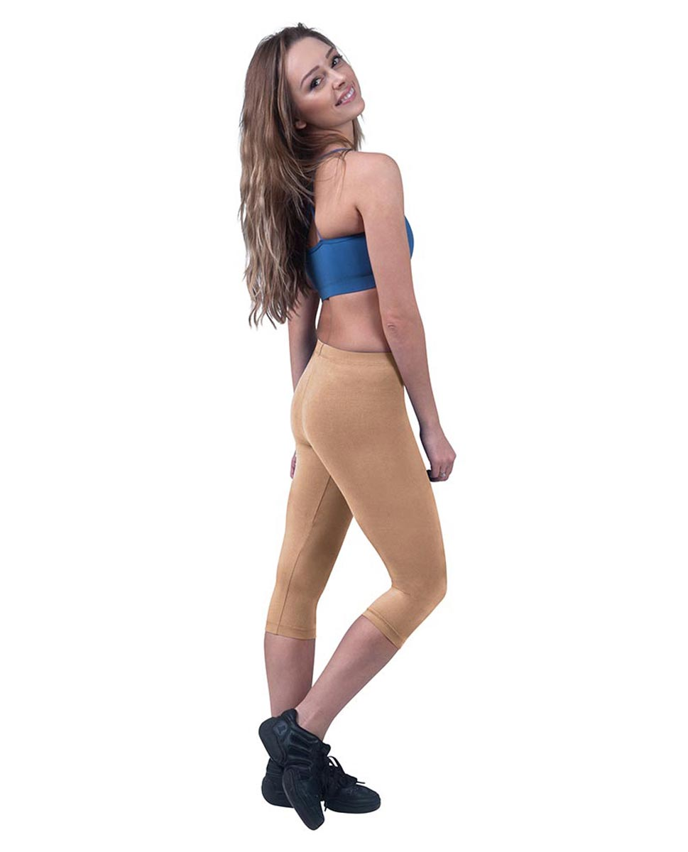 Brushed Cotton Capri Dance Leggings Rayna DNUD