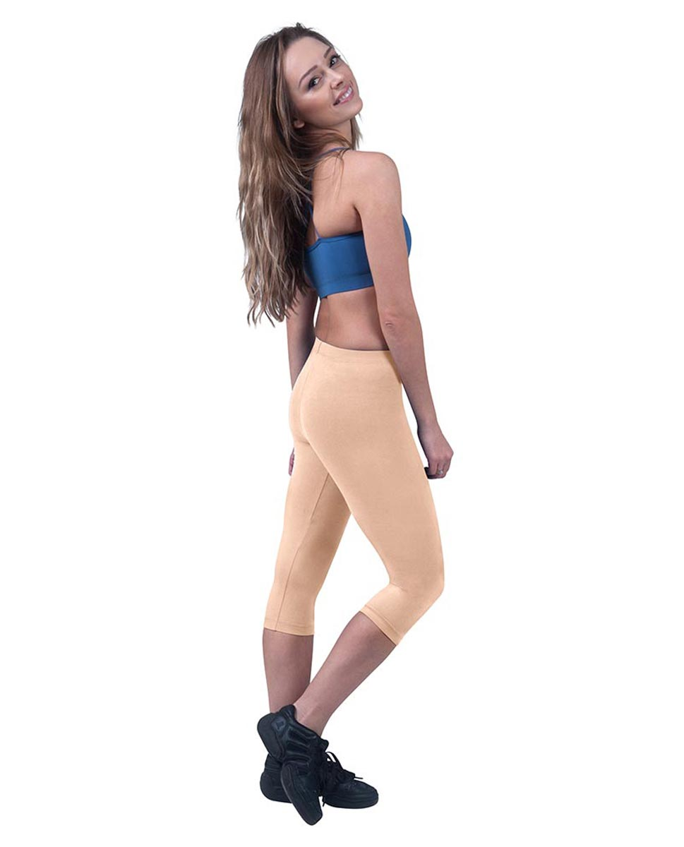 Brushed Cotton Capri Dance Leggings Rayna LNUD