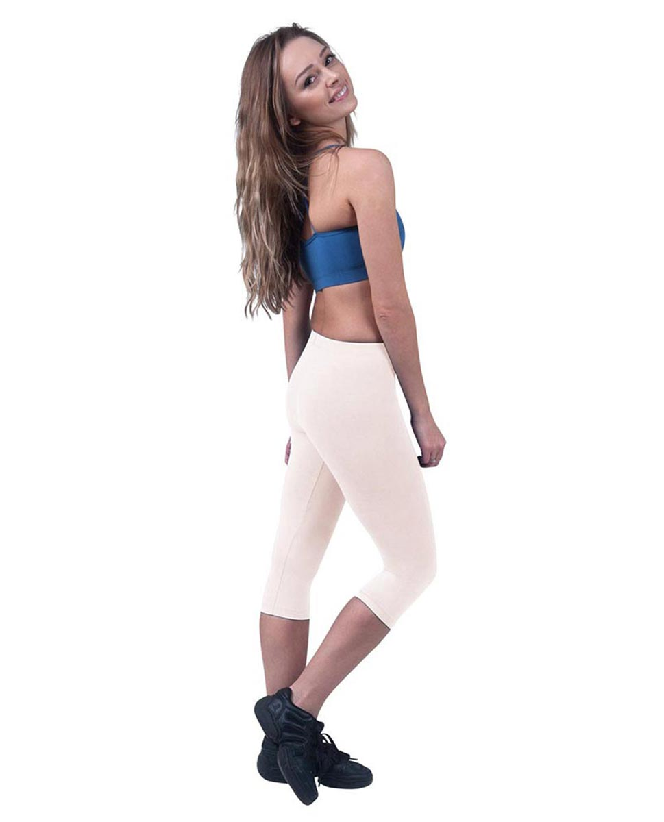 Brushed Cotton Capri Dance Leggings Rayna LPNK
