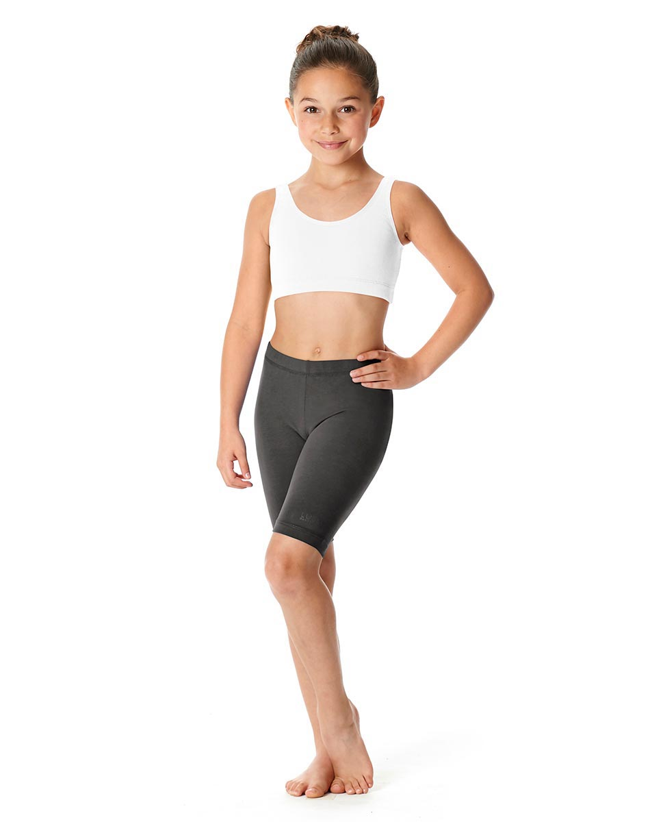 Girls Brushed Cotton Bike Shorts Trinity DGRE