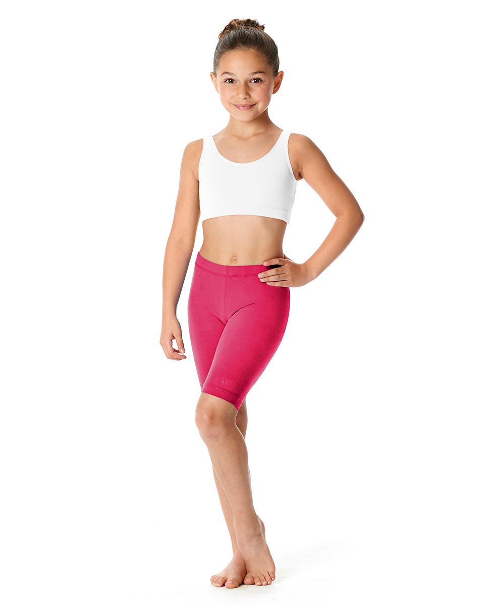 Girls Brushed Cotton Bike Shorts Trinity FUC