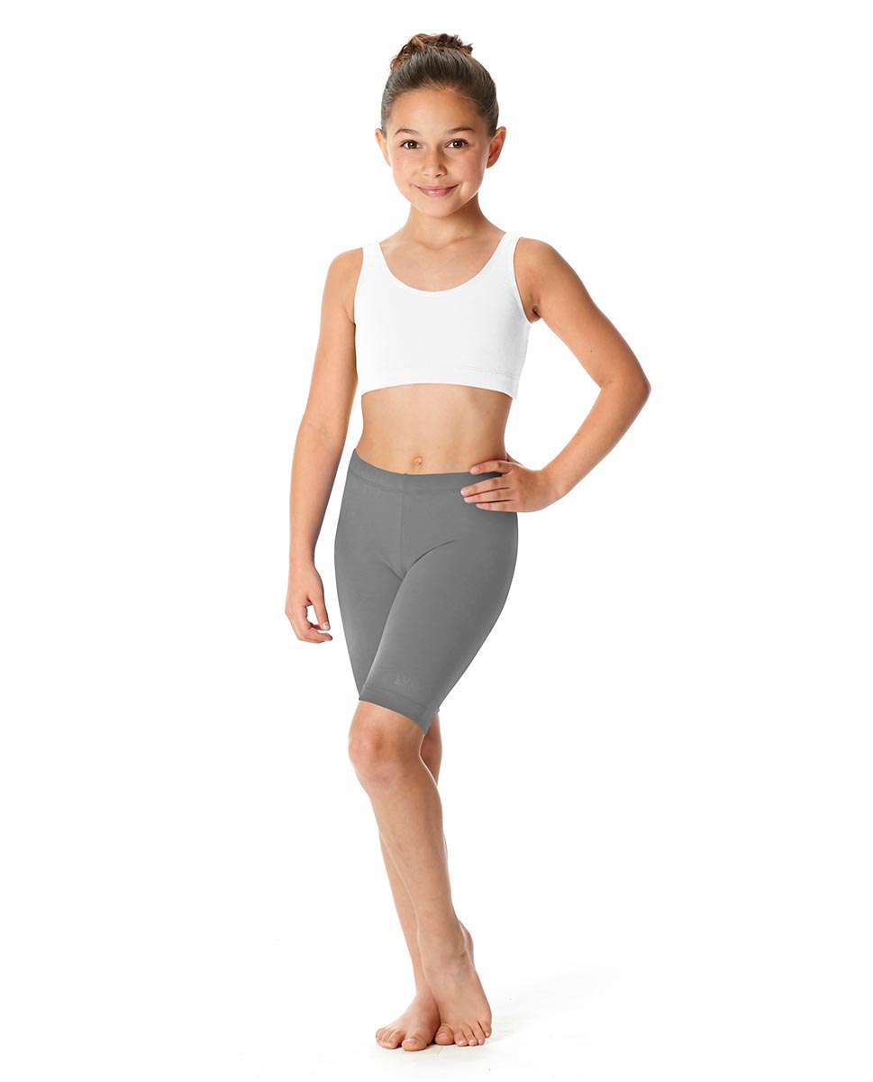 Girls Brushed Cotton Bike Shorts Trinity GRE