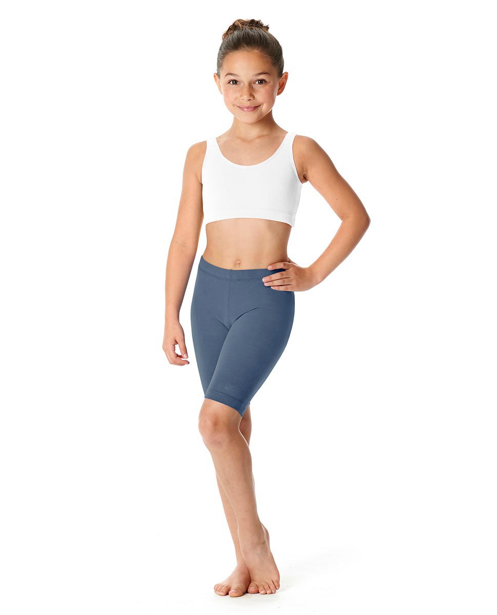 Girls Brushed Cotton Bike Shorts Trinity JEA