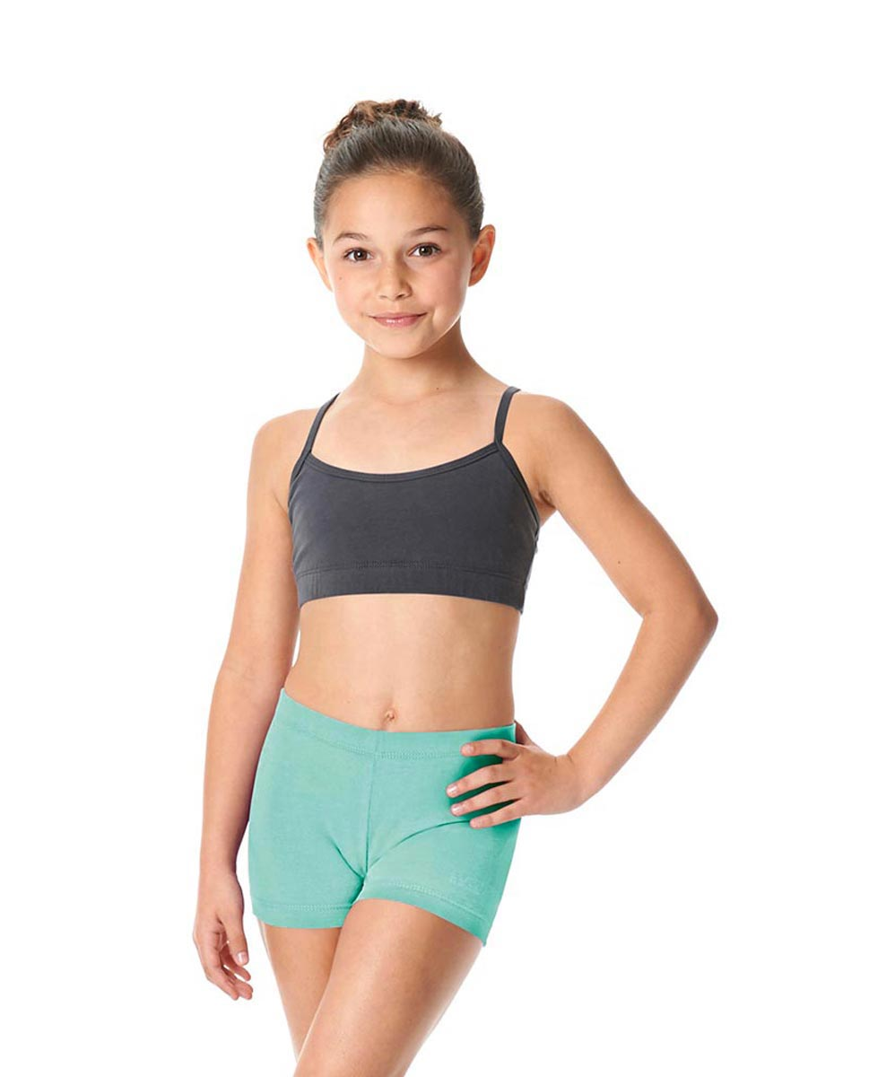 Girls Brushed Cotton Dance Shorts Venus AQU
