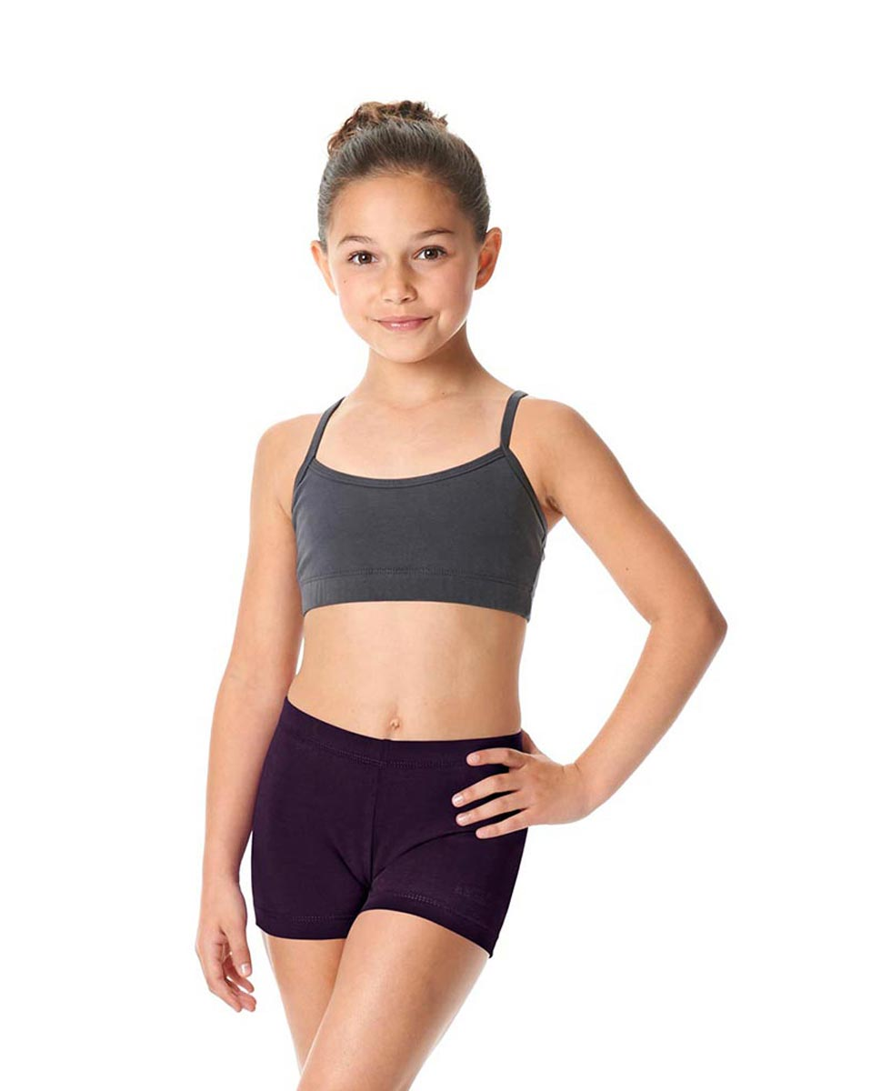 Girls Brushed Cotton Dance Shorts Venus AUB