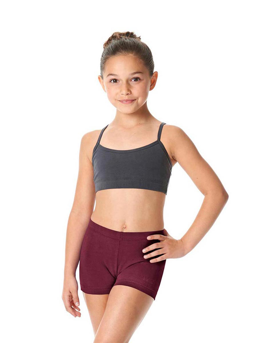 Girls Brushed Cotton Dance Shorts Venus BUR