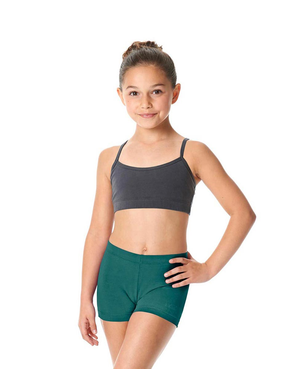 Girls Brushed Cotton Dance Shorts Venus TEA