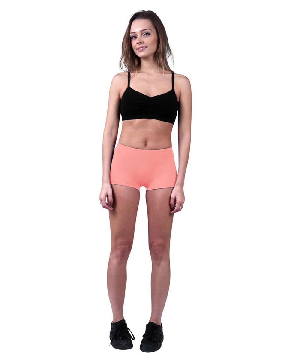 Brushed Cotton Hot Pants Isabella PEAC