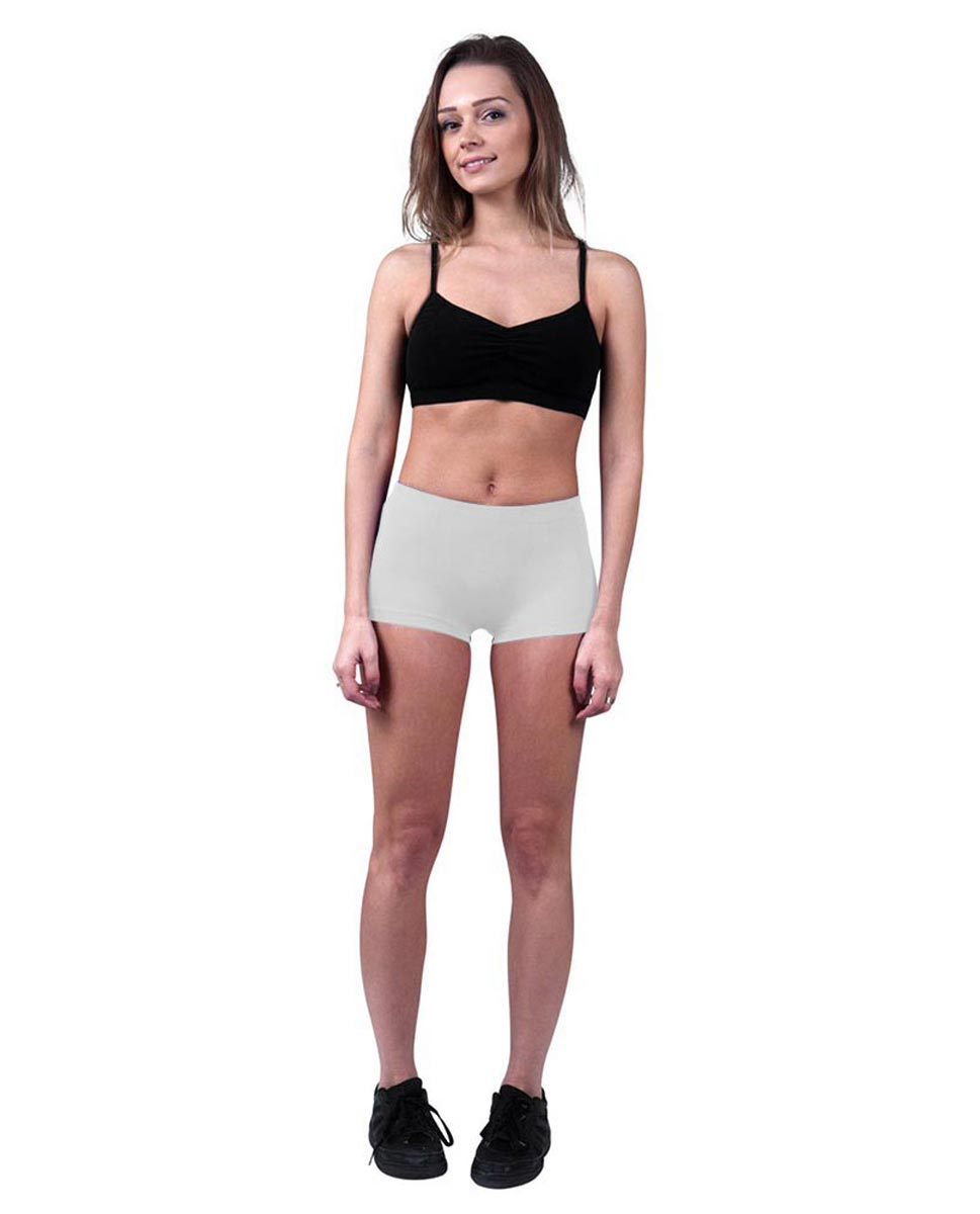 Brushed Cotton Hot Pants Isabella WHI