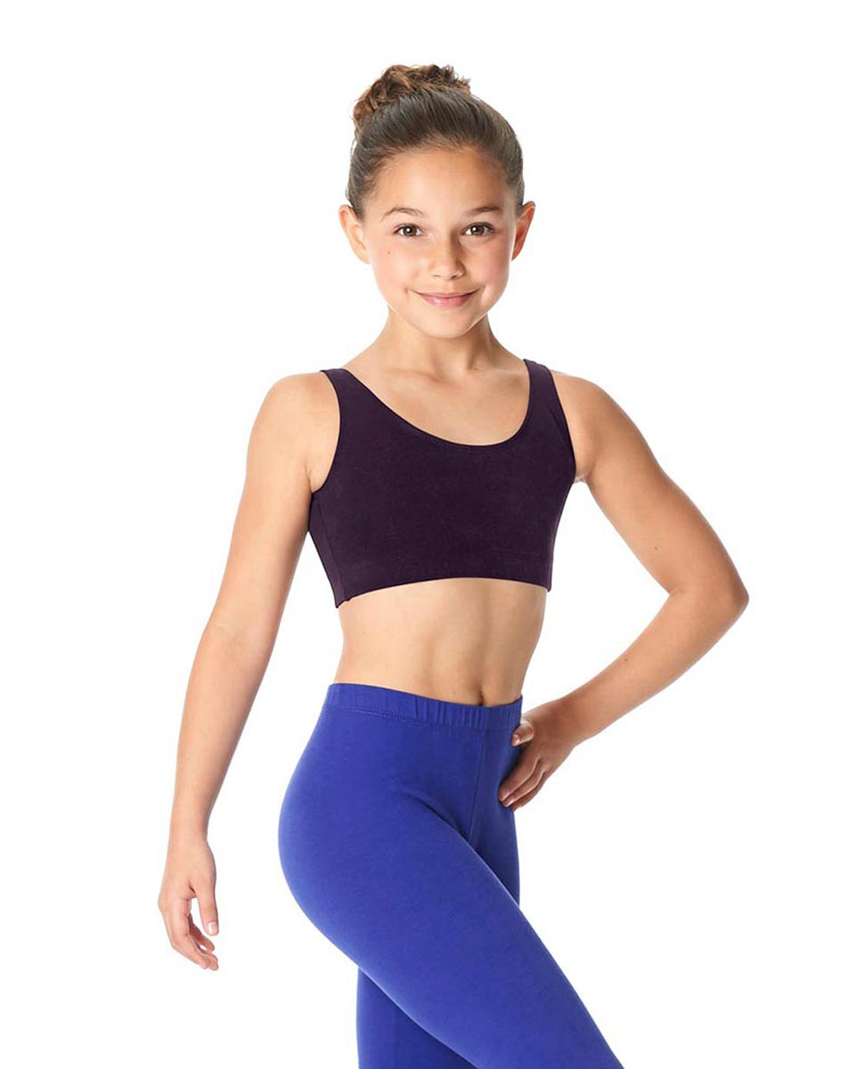 Girls Brushed Cotton Tank Dance Bra Beatrice AUB