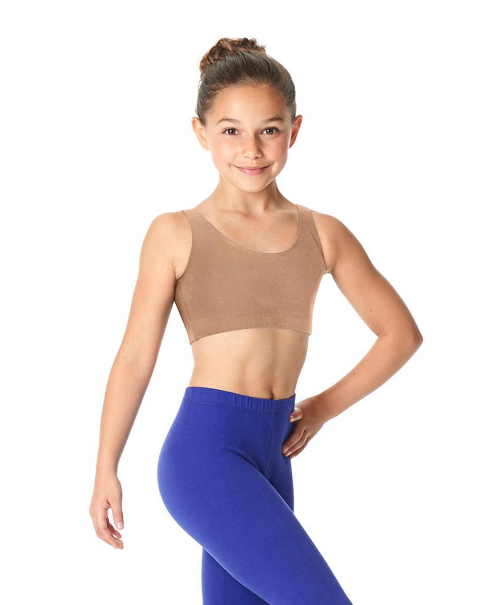 Girls Brushed Cotton Tank Dance Bra Beatrice DNUD