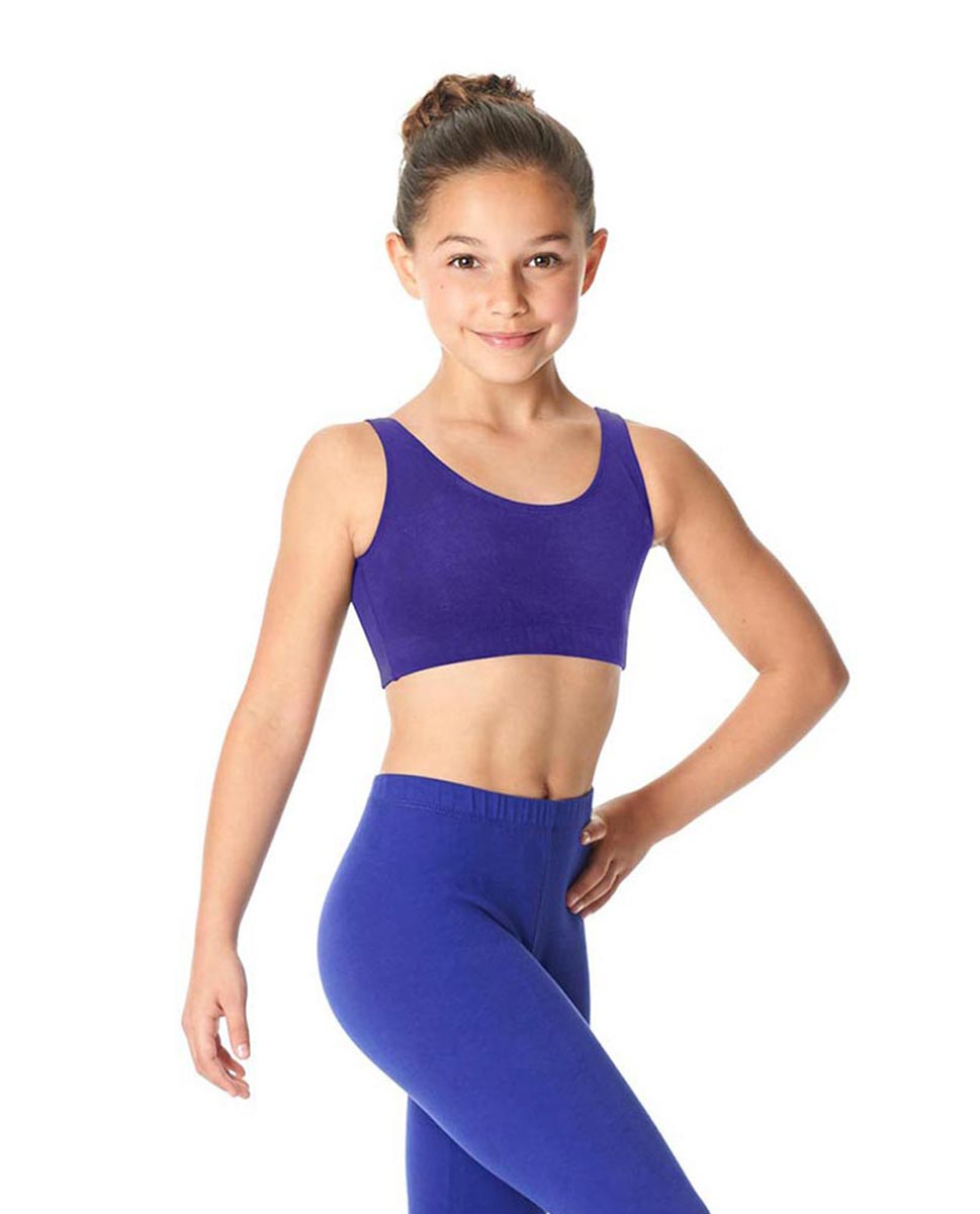 Girls Brushed Cotton Tank Dance Bra Beatrice ROY