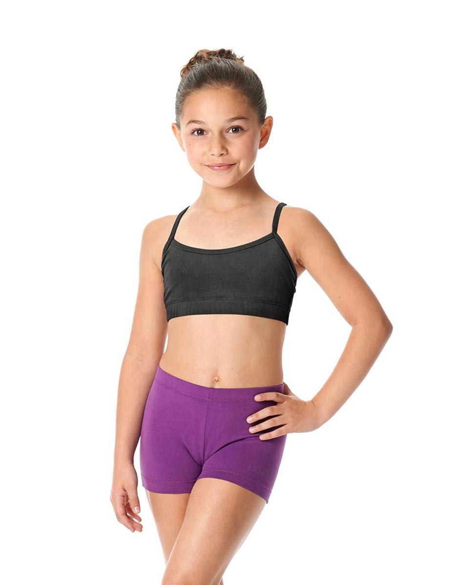 Girls Brushed Cotton Camisole Dance Bra Top Evelin DGRE