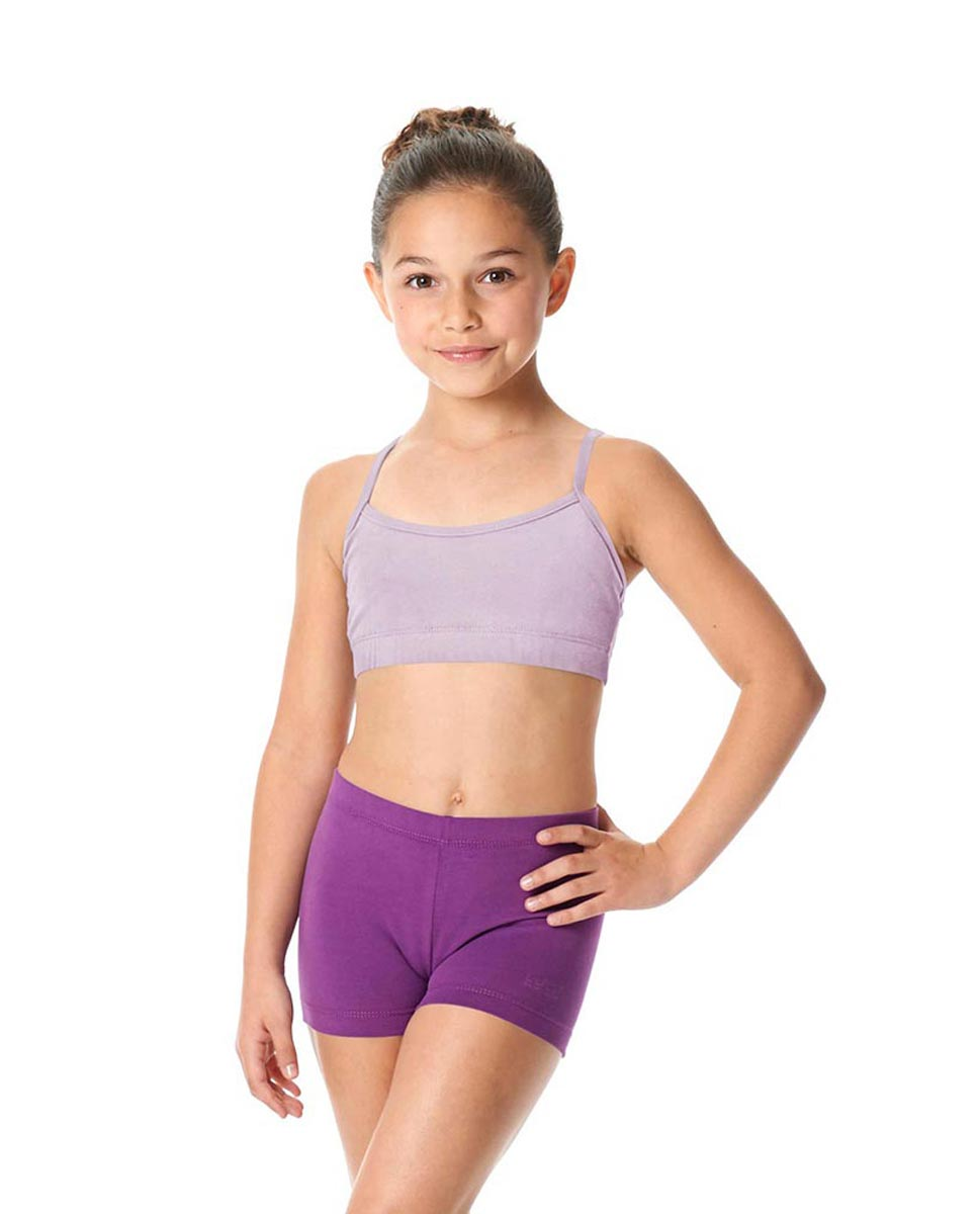 Girls Brushed Cotton Camisole Dance Bra Top Evelin LIL