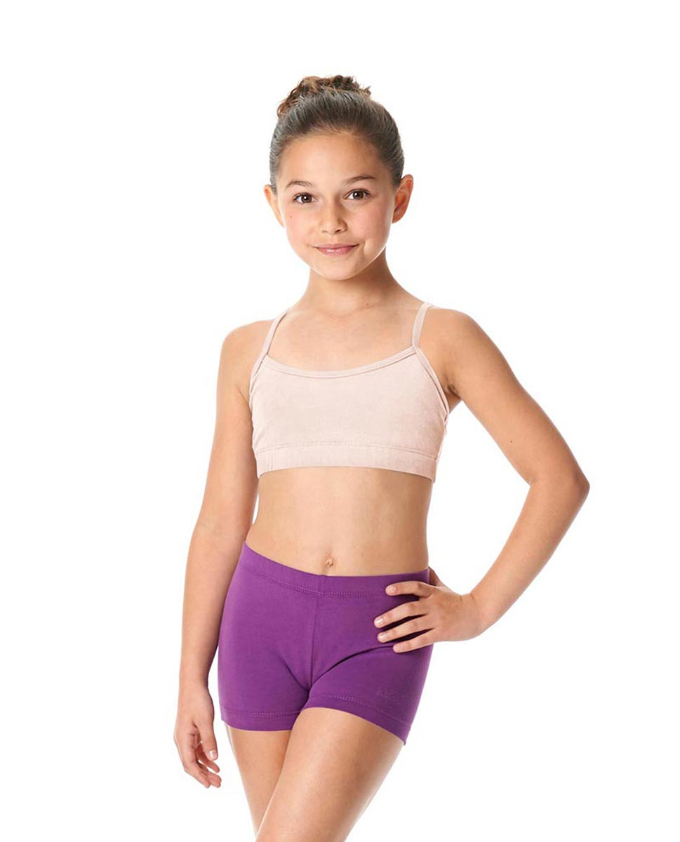 Girls Brushed Cotton Camisole Dance Bra Top Evelin LPNK