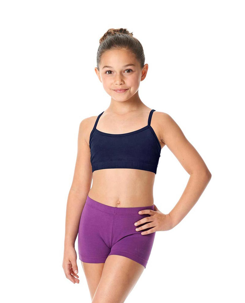 Girls Brushed Cotton Camisole Dance Bra Top Evelin NAY