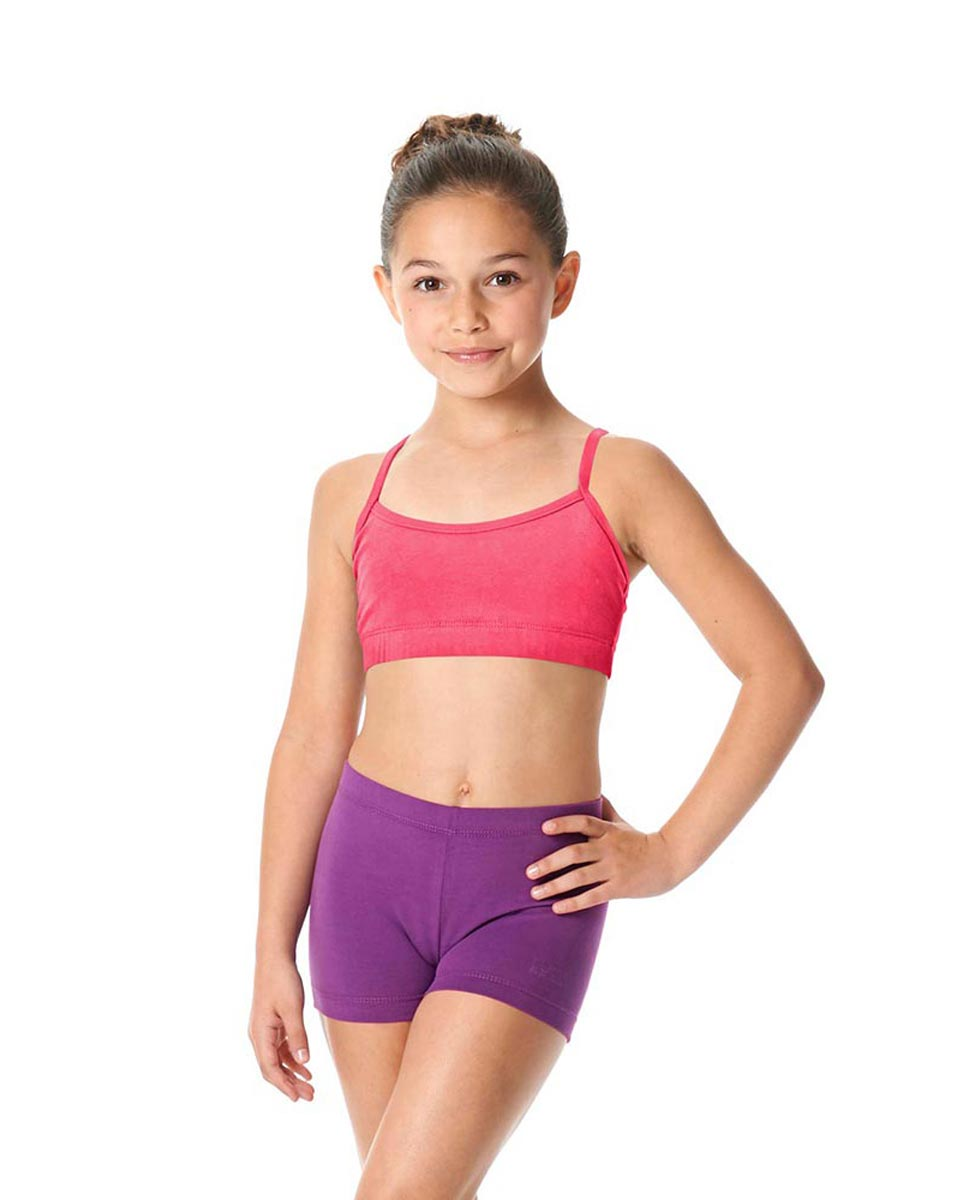 Girls Brushed Cotton Camisole Dance Bra Top Evelin ROS