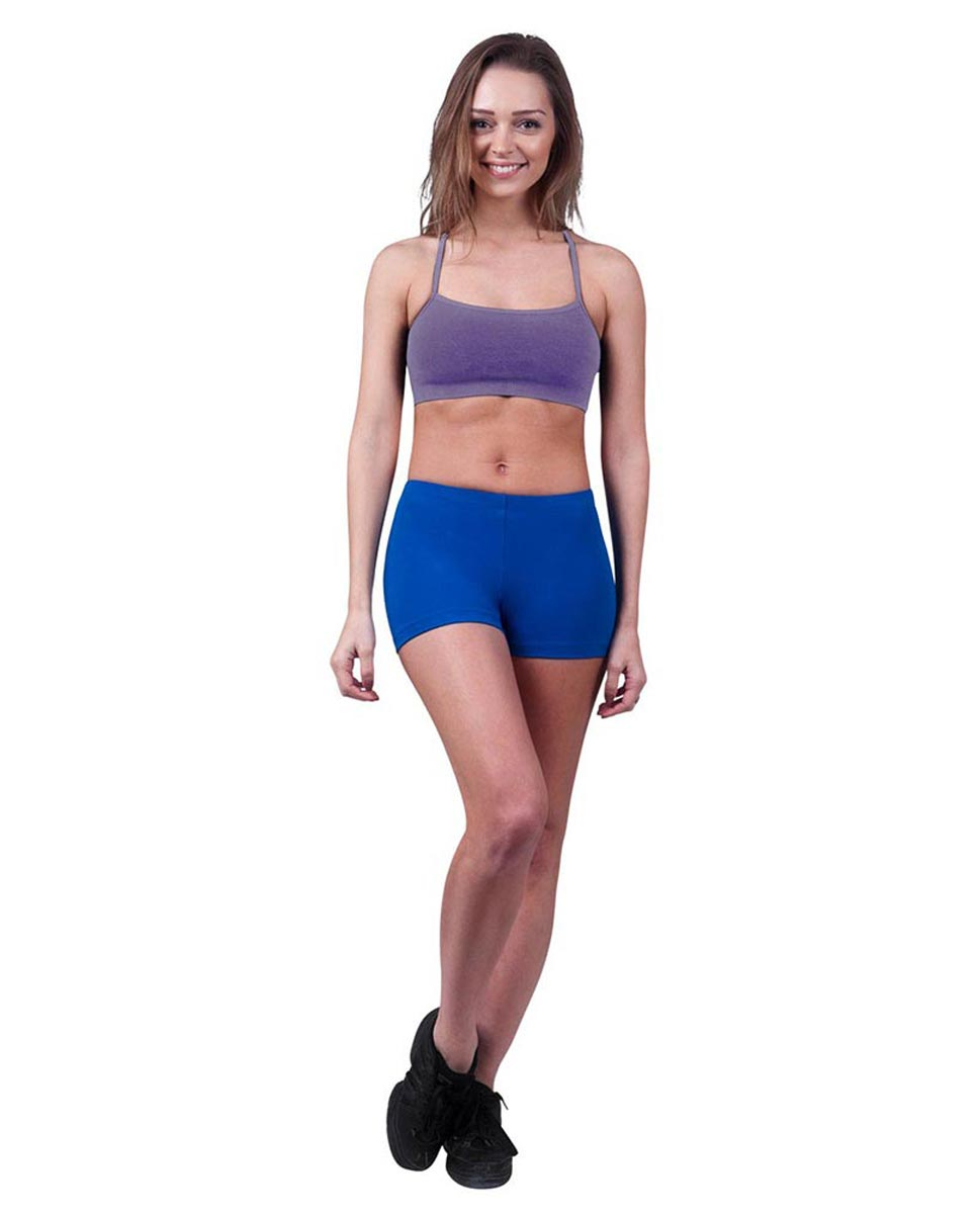 Brushed Cotton Camisole Dance Bra Top Evelin LAV