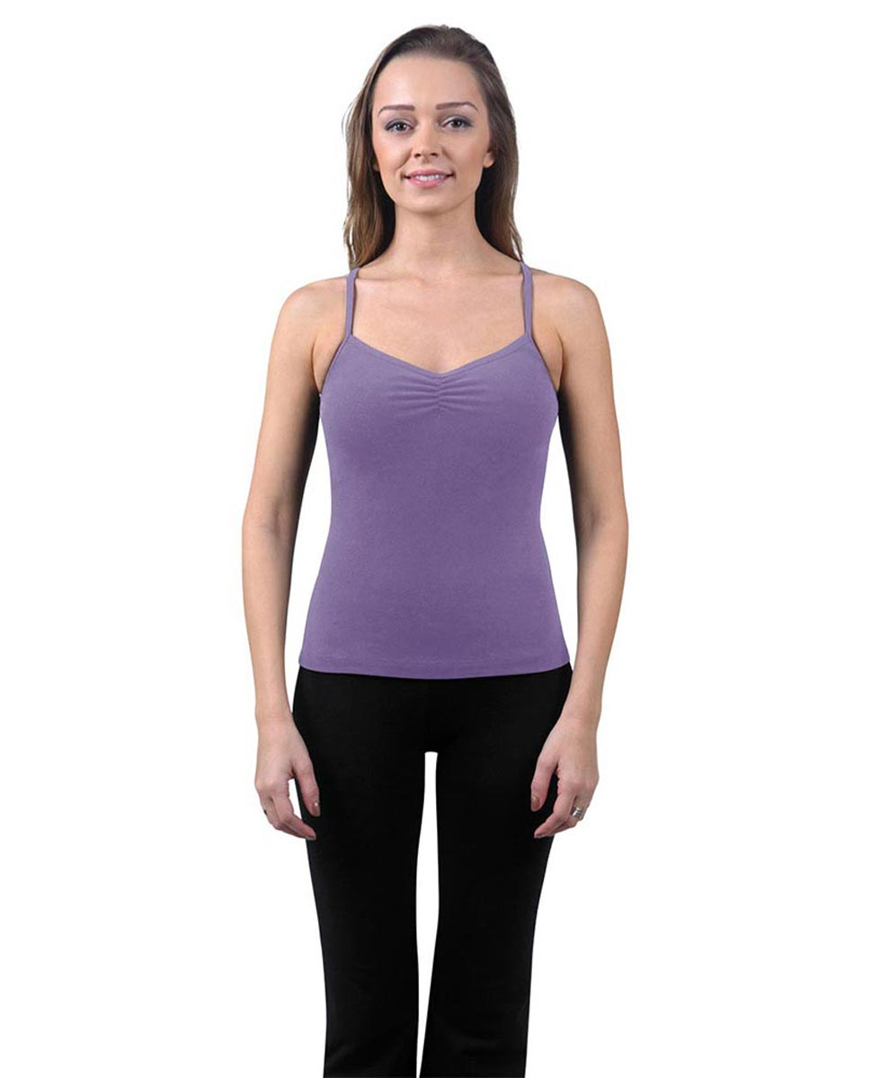 Brushed Cotton Pinched Front Camisole Dance Top Ursula LAV