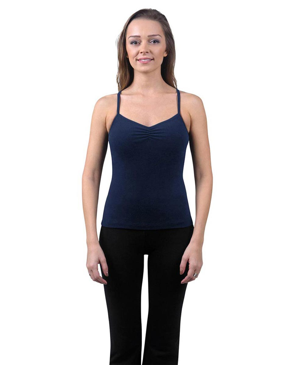 Brushed Cotton Pinched Front Camisole Dance Top Ursula NAY