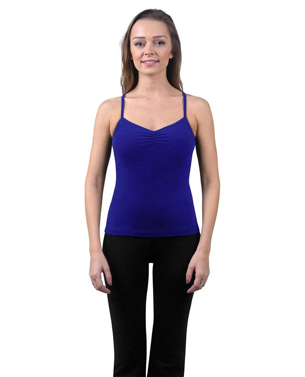 Brushed Cotton Pinched Front Camisole Dance Top Ursula ROY
