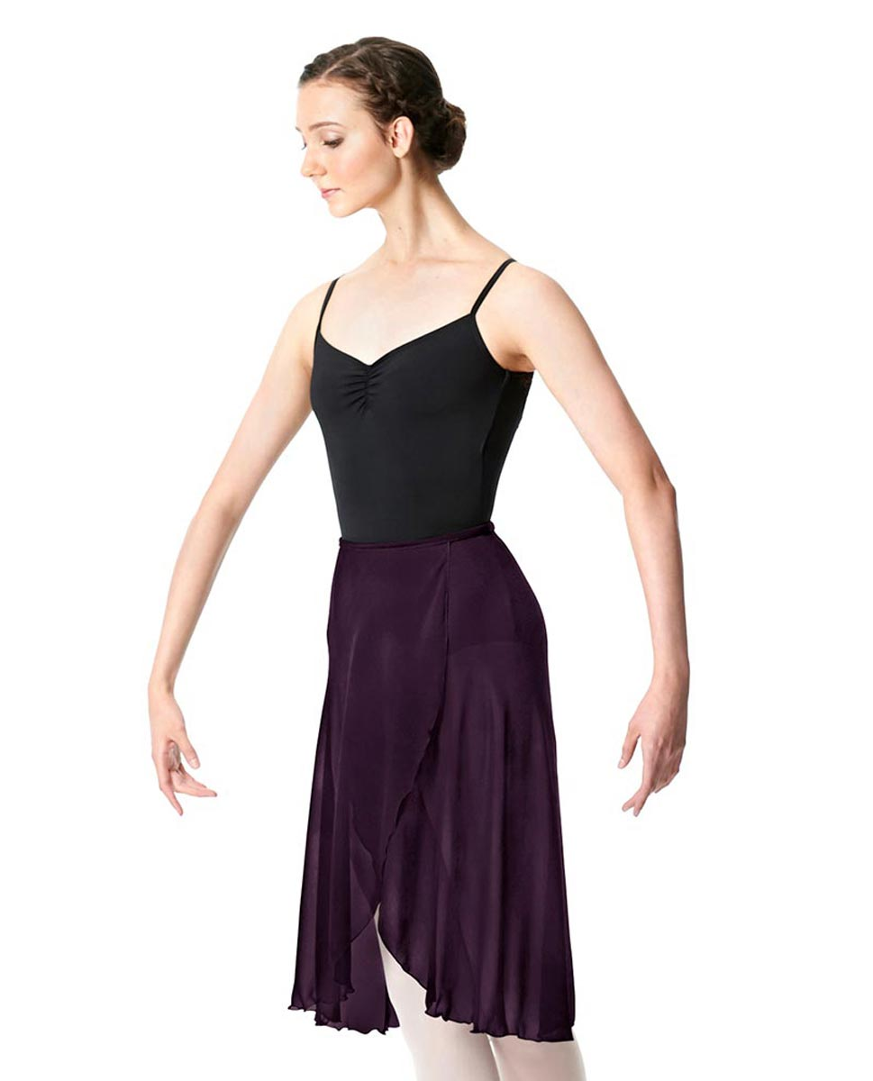 Wrap Chiffon Ballet Long Skirt Addison AUB