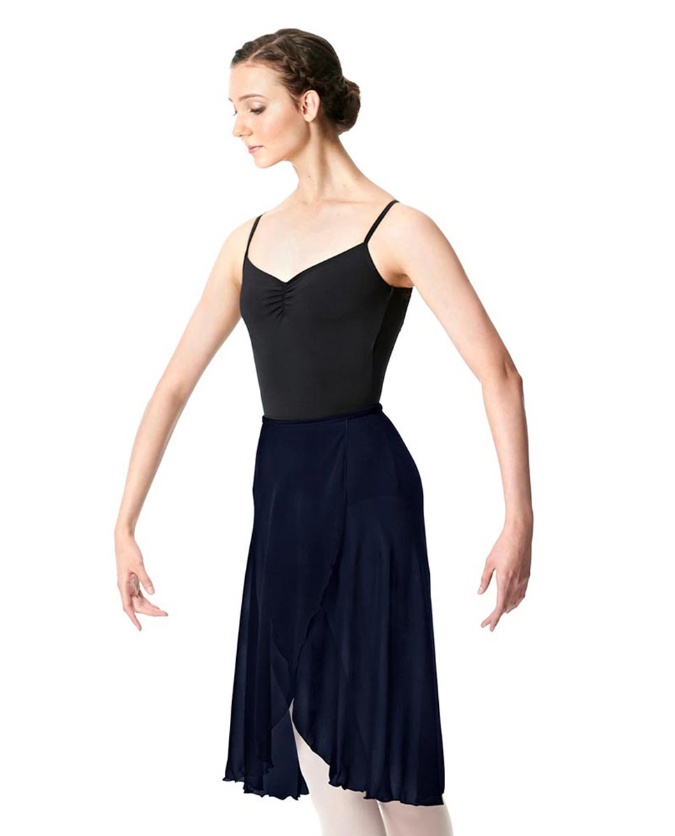 Wrap Chiffon Ballet Long Skirt Addison NAY