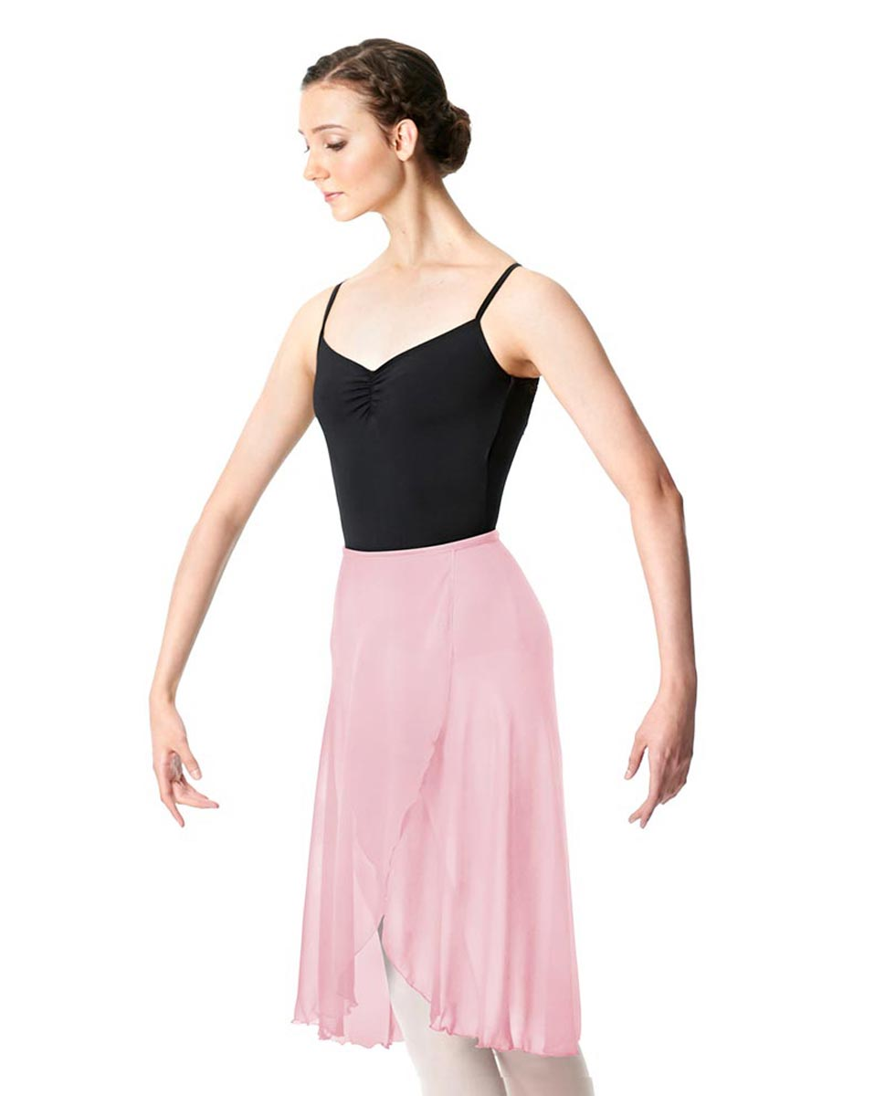 Wrap Chiffon Ballet Long Skirt Addison PNK
