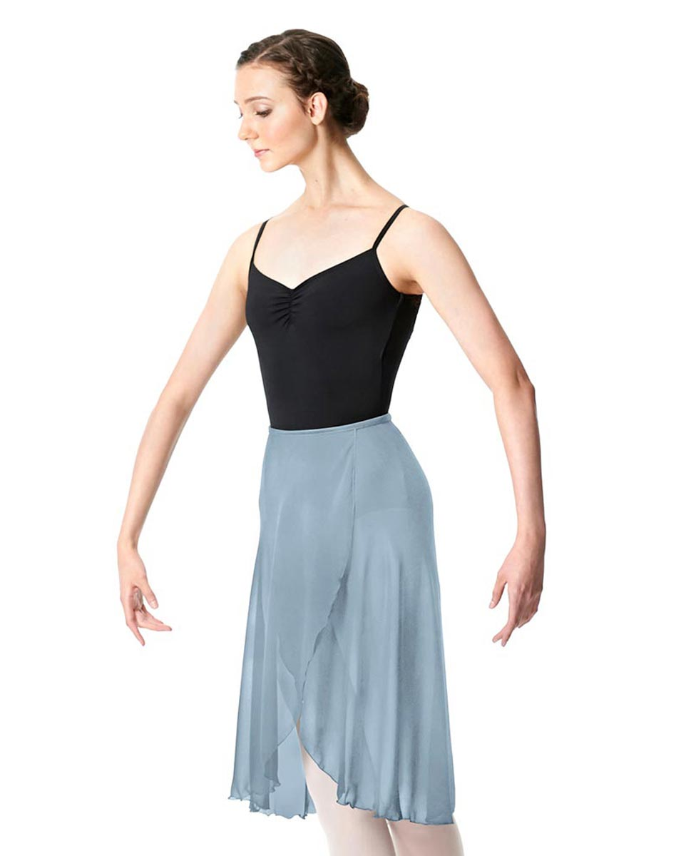 Wrap Chiffon Ballet Long Skirt Addison SKY