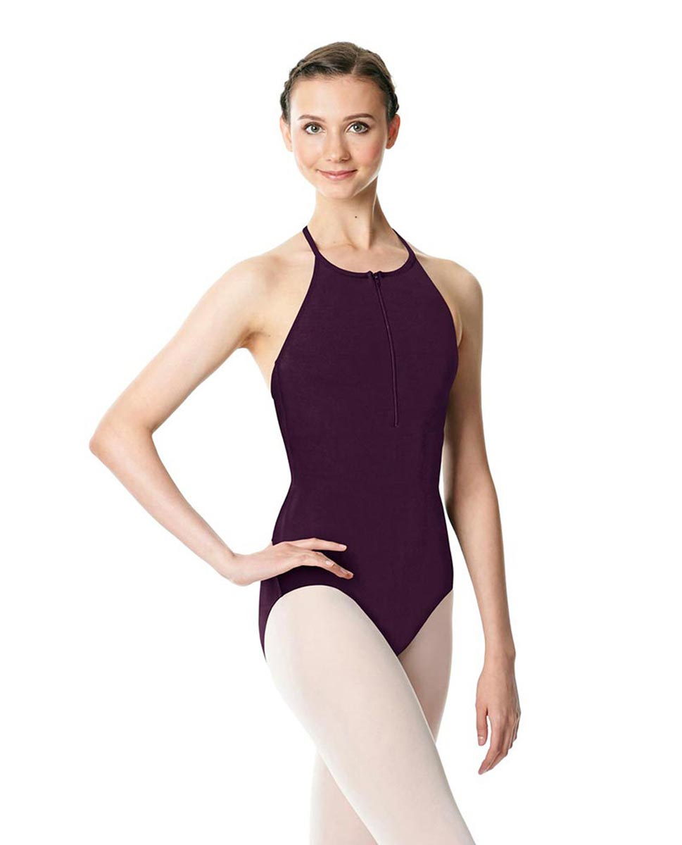 Hatler Neck Zipper Leotard Sarah AUB