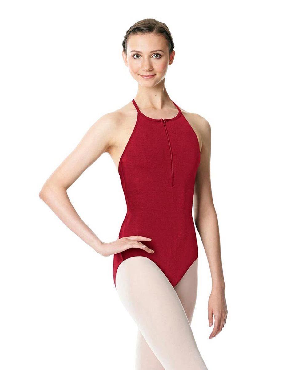 Hatler Neck Zipper Leotard Sarah DRED