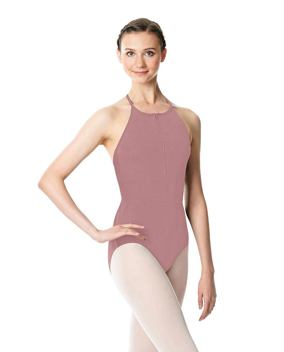 Hatler Neck Zipper Leotard Sarah DROS