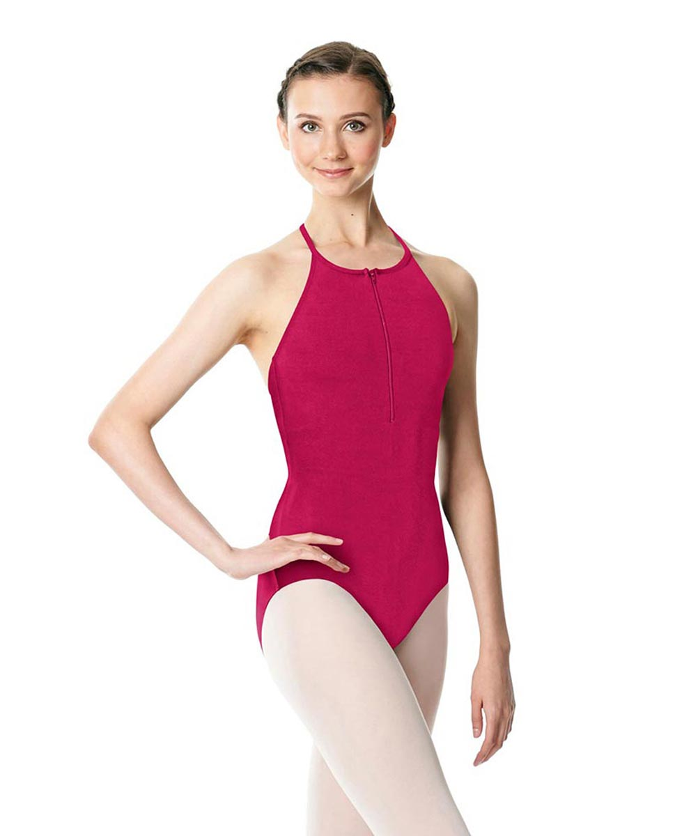 Hatler Neck Zipper Leotard Sarah FUC
