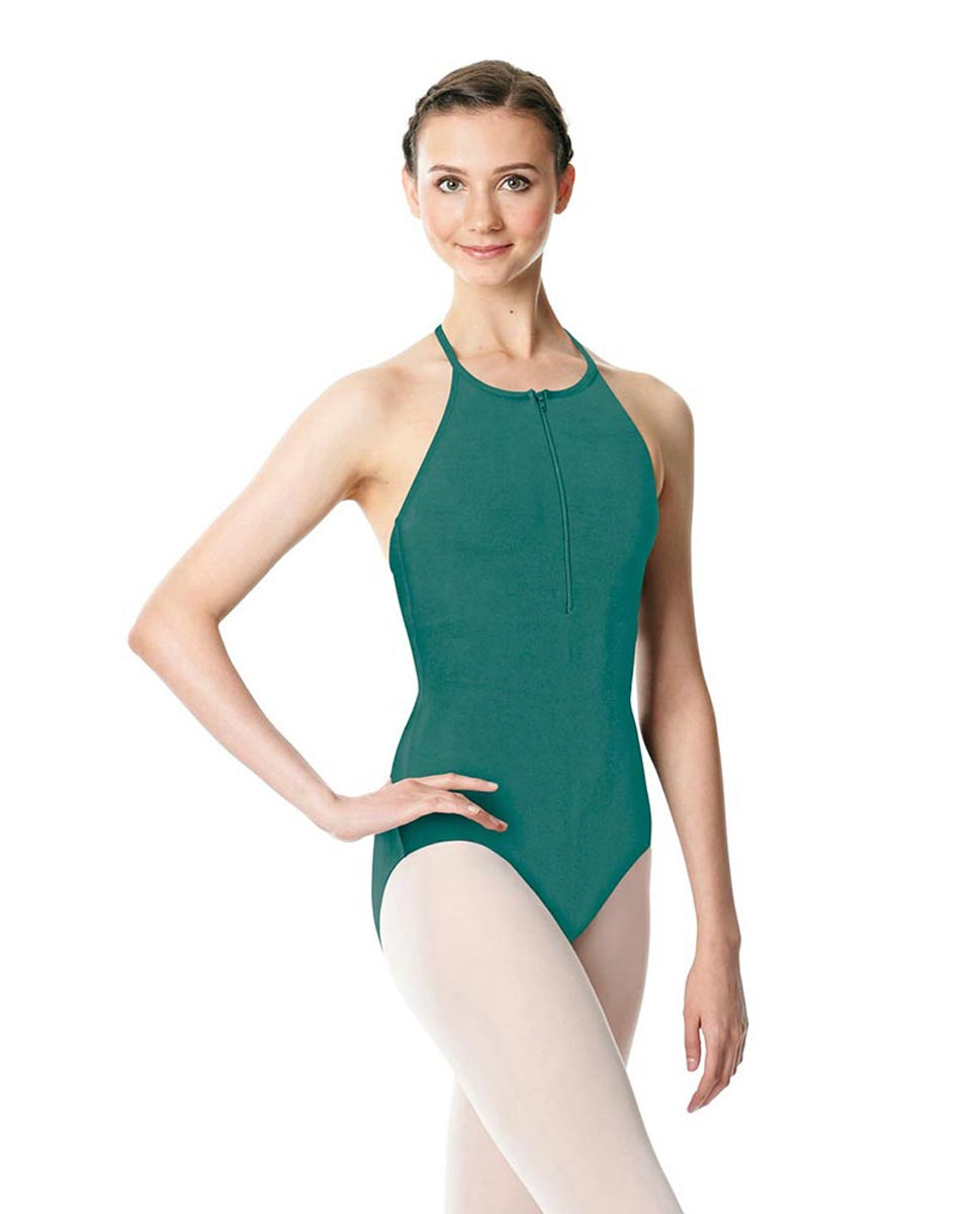 Hatler Neck Zipper Leotard Sarah JAD